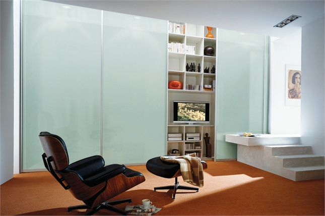 Frosted Glass Sliding Wardrobe Sliding Wardrobe http://www.sliderobes.com/sliding-wardrobe/category/Living-Areas/Classic-Collection/frosted-glass-sliding-wardrobe