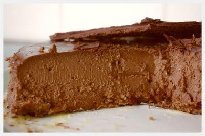 Sjokoladeostekake