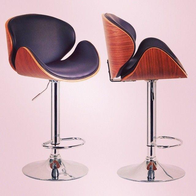 Tango Lift Stool by !nspire http://inspireathome.com/nspire-tango-gas-lift-stool-in-walnut.html