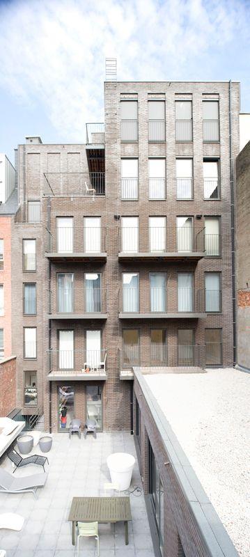 Apartment building & interior of the duplex