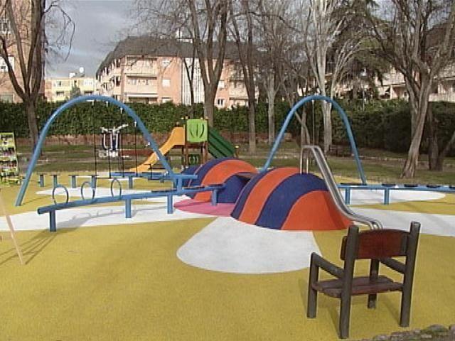 parque de Asturias y Cantabria en Alcobendas.