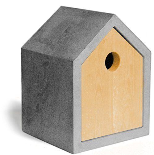 design vogelhaus aus beton design and garten. Black Bedroom Furniture Sets. Home Design Ideas