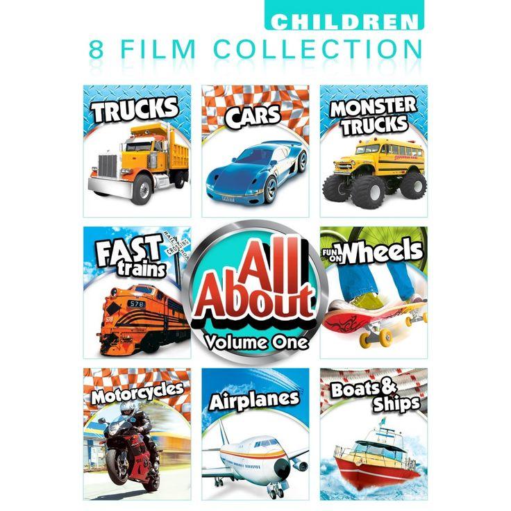 All Aboutv01 (Dvd/8 Ep/Cars/Trucks Trains Wheels