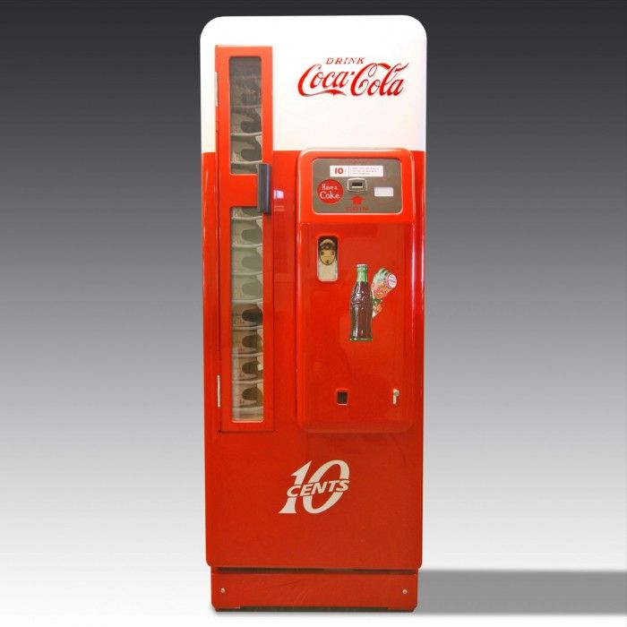coca cola machines vintage eBay