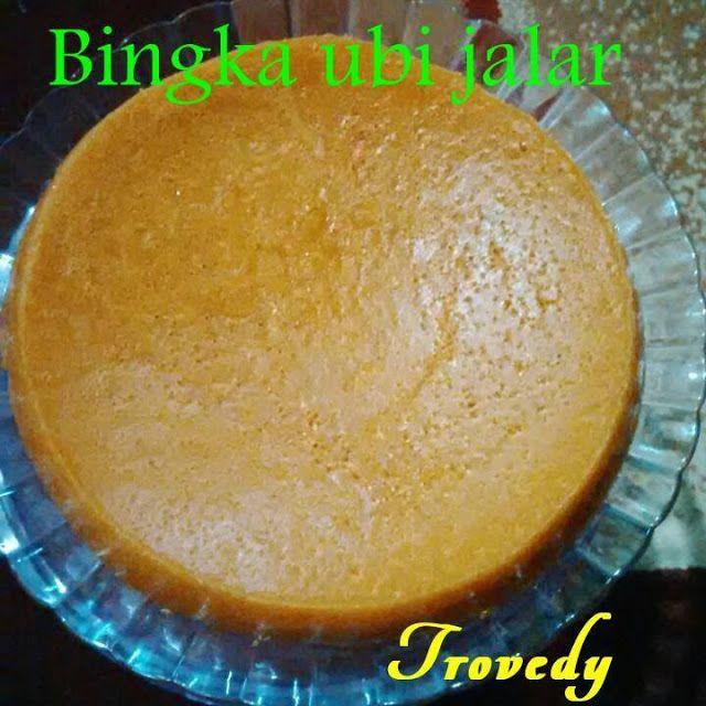 Kuliner Nusantara: Bingka ubi jalar by Eka Trovicayana