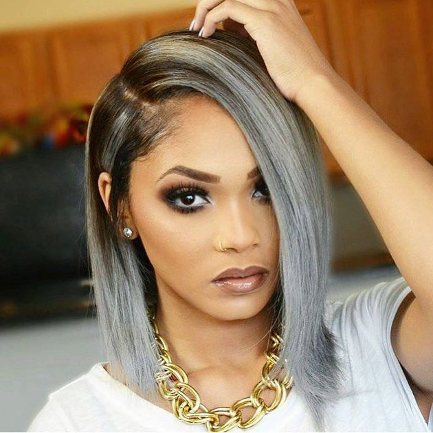 sydonce grey bobs weave colored bob weave color weave gray weave ...