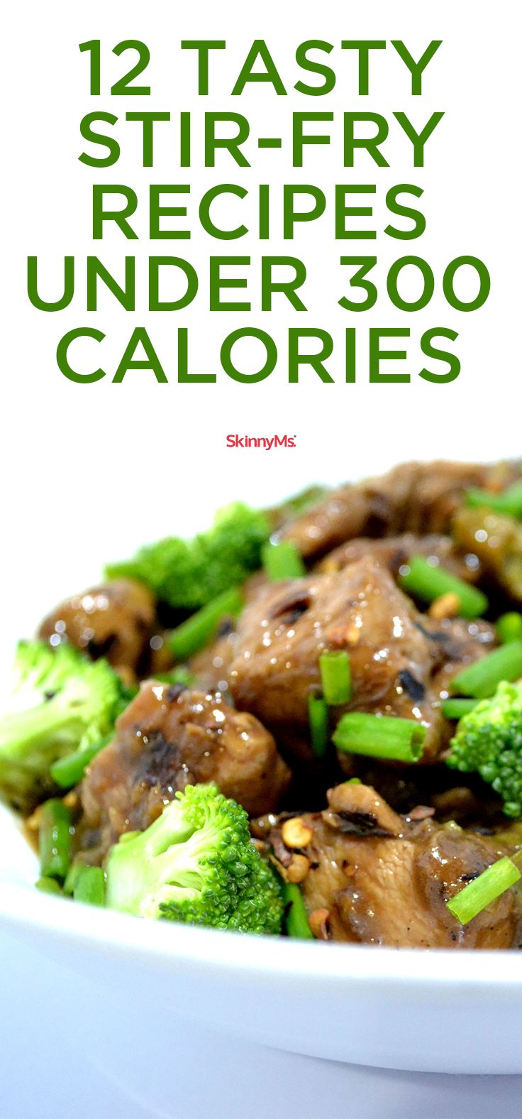 Stir things up with these 12 Tasty Stir-Fry Recipes Under 300 Calories!