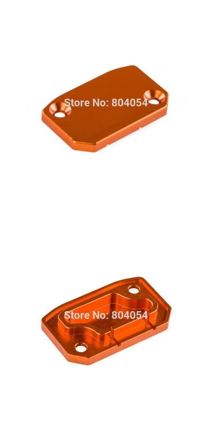 [Visit to Buy] Brake Reservoir Cover (Orange) For KTM 125 250 SX/EXC 450 SX-F/EXC-F 2006-2015 #Advertisement