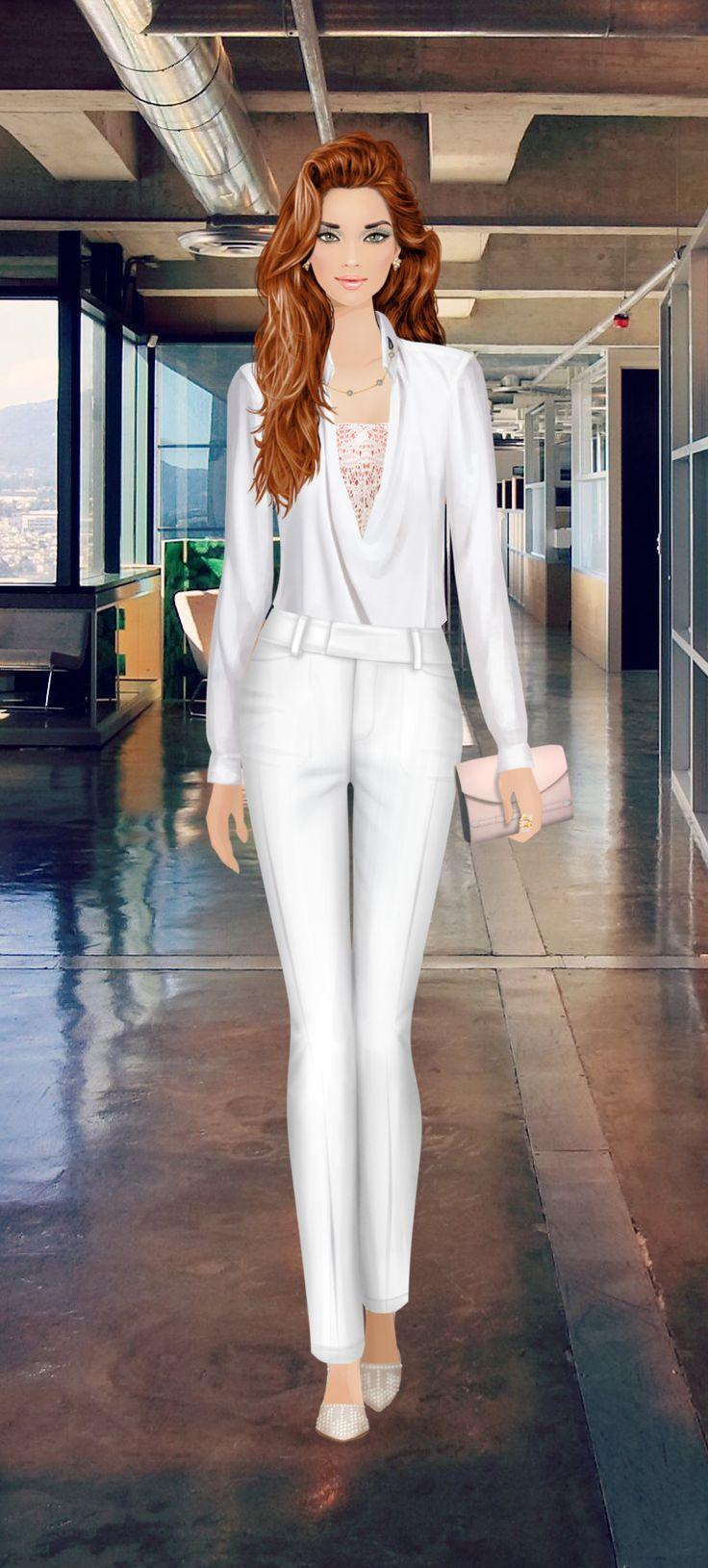 Negotiate A Merger On Covet Fashion Game Fashionista Och Pinuppor Och Lady Figurine Pinterest