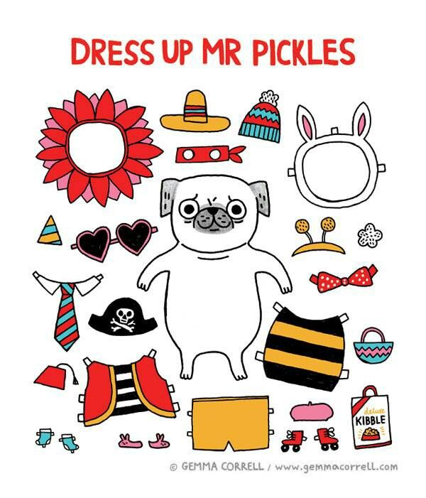Dress up mr pickles, gemma correll