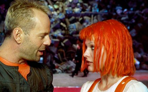 Corbin and Leeloo -- The Fifth Element ~ An all time favorite!