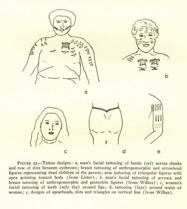 Tokelau tattoo and tattooing