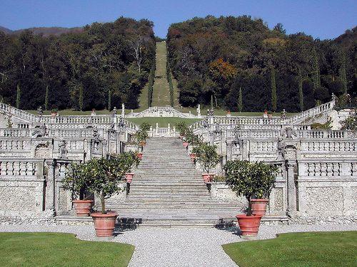 Casalzuigno (Varese) - Villa Della Porta Bozzolo, Stairway to heaven  #TuscanyAgriturismoGiratola