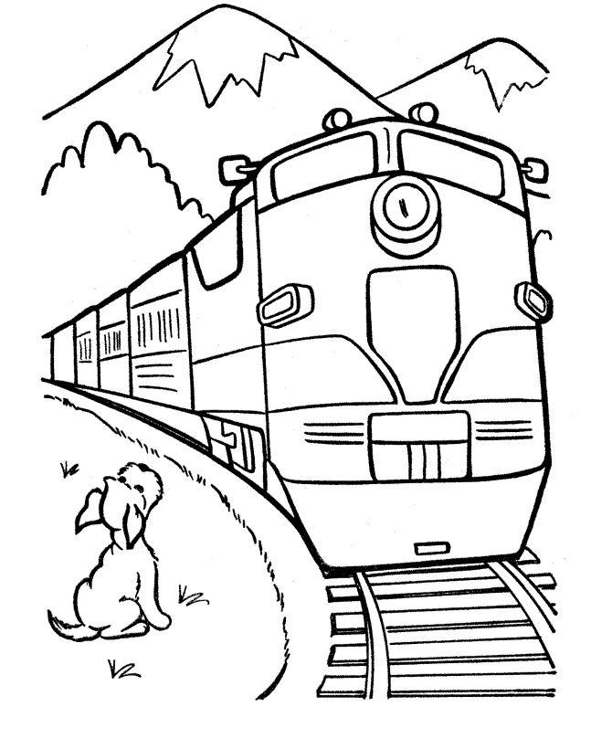 b7e0c300cbb0356552bfc268e78edc6e--coloring-pages-for-kids-free-coloring Train Coloring Page Train
