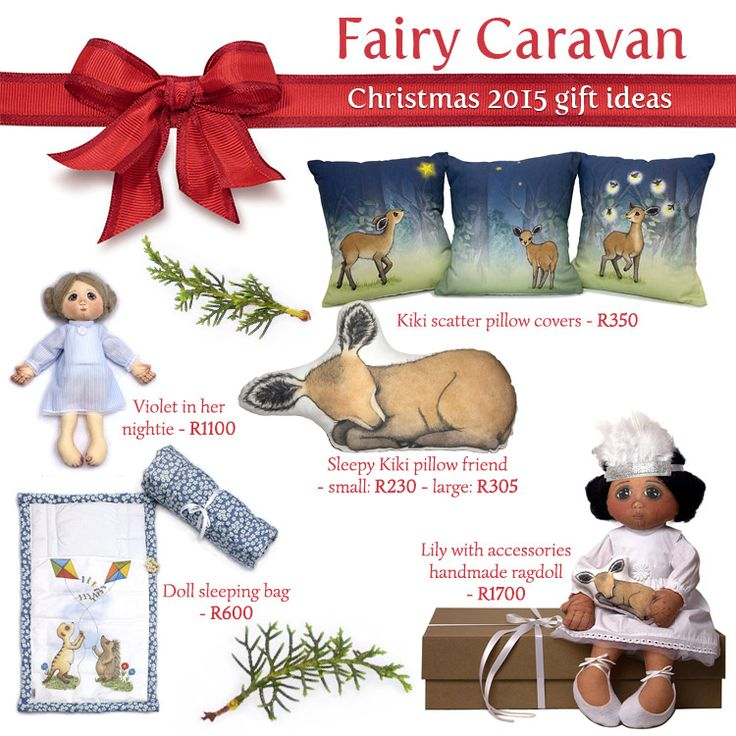 At Fairy Caravan the elves have been very busy preparing for Christmas 2015! We have put together a few ideas for gifts for your little one.
