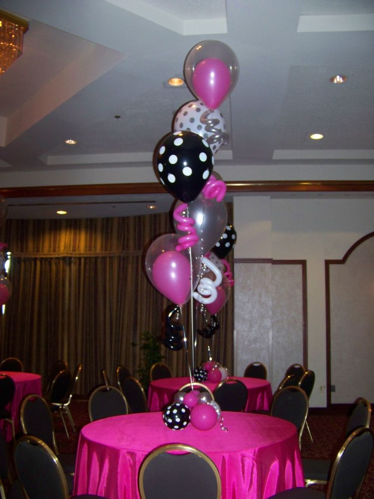 Polka dot balloon centerpieces 1316 best Balloon