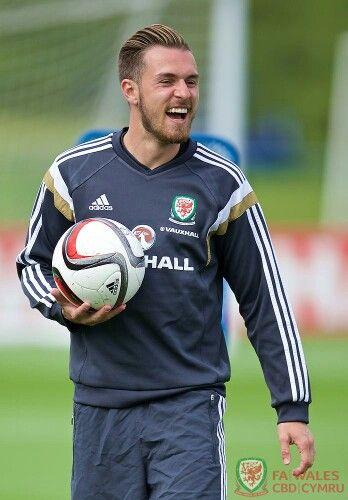 Aaron, on Wales National Team