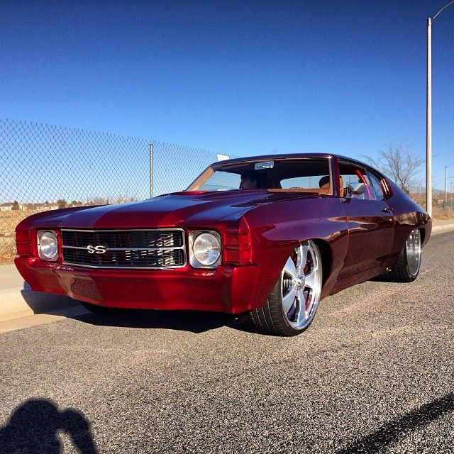 71 Widebody Chevelle 24X15 Intro Wheels 572 (With Images
