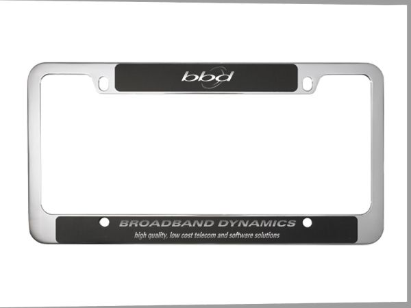 22 Best License Plate Frames With Your Slogan Or Brand