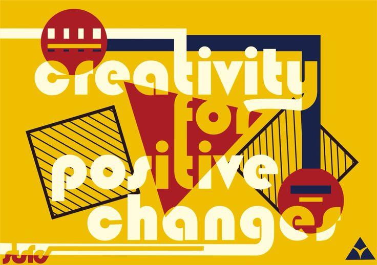 Tipografi Aplikatif ... Menggunakan Gaya design Bauhaus dan construktivisme   #digitalart#gayadesign#graphicdesigner#tipografiaplikatif#konsultasiuas#popart#art