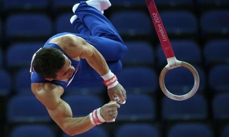Louis Smith...GB gymnast team