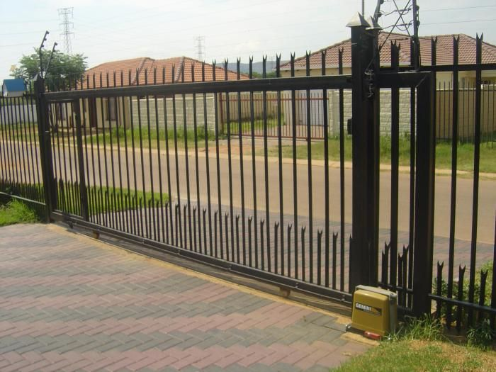 Best 25 Industrial Fencing And Gates Ideas On Pinterest