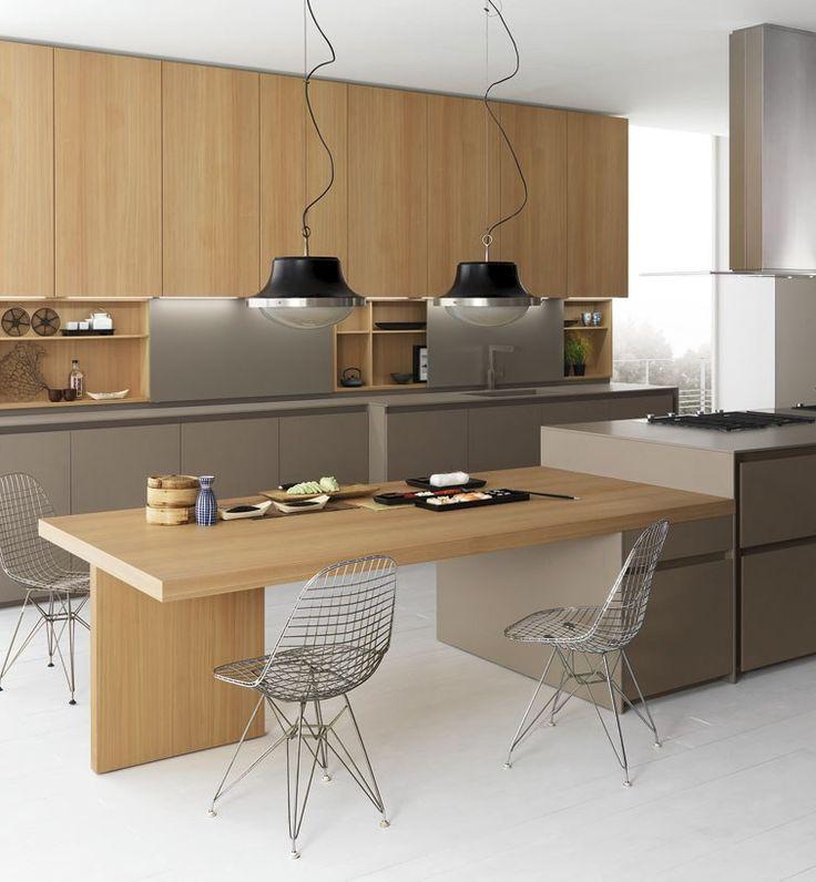 Axis 012 Küche Mit Kücheninsel By Zampieri Cucine Design Stefano ... Küche  InterieurModerne ...