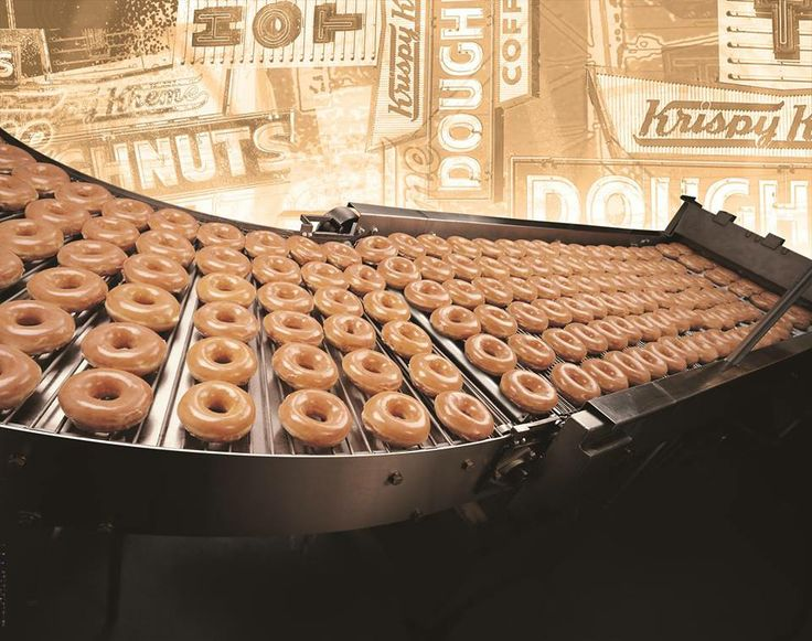 AND VISIONS of KRISPY KREMES FLOWING THRU MY HEAD … ON A CONVEYER BELT, OF COURSE … IS THERE ANY OTHER WAY ….