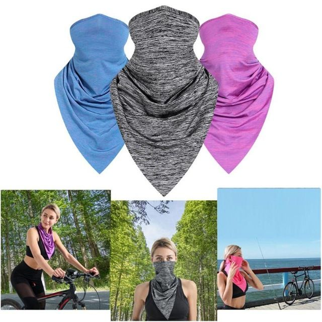 Breathable Bicycling Mask Summer Outdoor Cycling Triangle Face