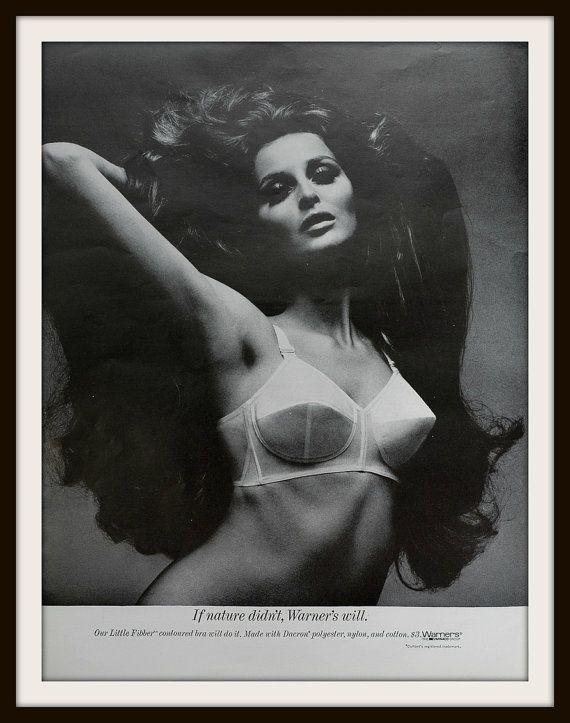 1968 Warners Bra Advertisement. Vintage Warners Ad. Vintage Pointed Bra ad. Vintage Lingerie ad. Vintage fashion ad.