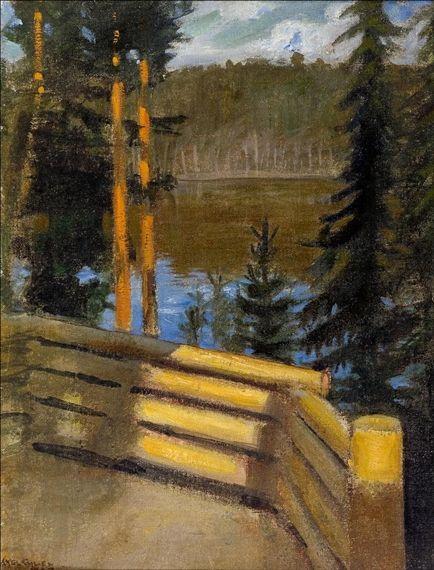 AKSELI GALLEN-KALLELA  Kalelan Kuisti (1897)
