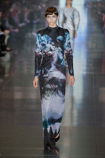 Fall Fashion BTS Mary Katrantzou Review | Fashion Week Fall 2013 Photo 2