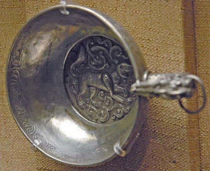 Belt cup. Silver, gilding. Golden Horde.  State Historical Museum, Moscow :: Turkic Peoples of the Steppe                                                                                                                                                                                 もっと見る