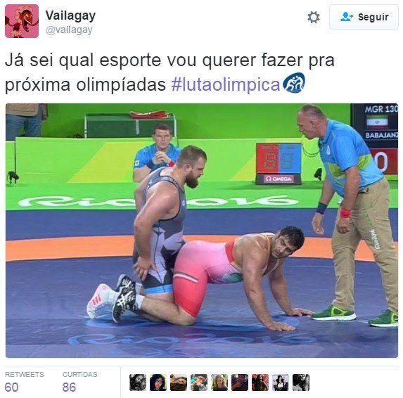 A internet brasileira não tem maturidade para ver a luta olímpica