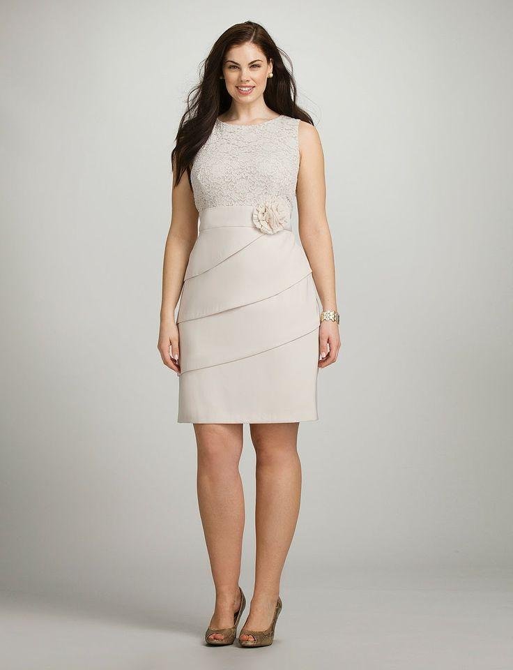 Excelentes vestidos de encaje para gorditas | Colección 2014