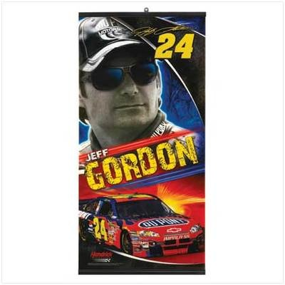 jeff gorden  #24 banner have about 4 left come ge your favorite driver on your wall
