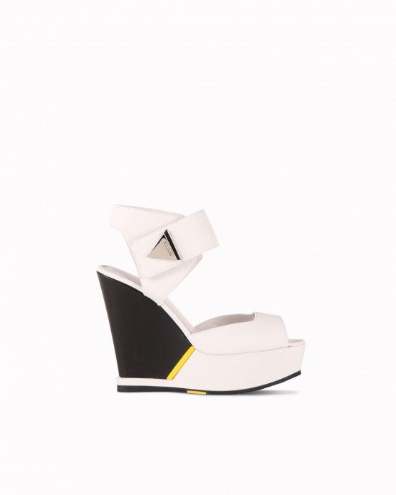 Wedge sandals with ankle strap Iceberg  #Iceberg #wedges #colourblock #fashion #style #stylish #love #socialenvy #me #cute #photooftheday #beauty #beautiful #instagood #instafashion #pretty #girl #girls #styles #outfit #shopping