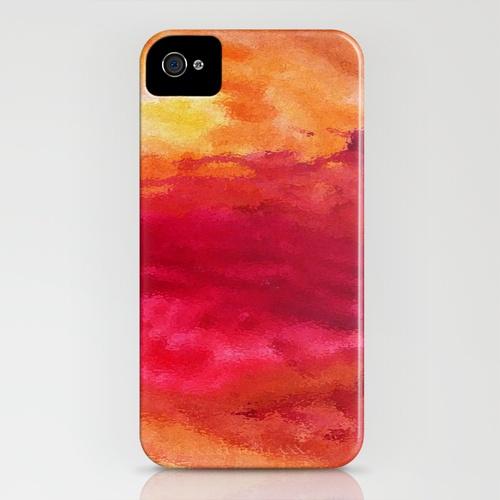 Rage iPhone Case by Shazia Imran