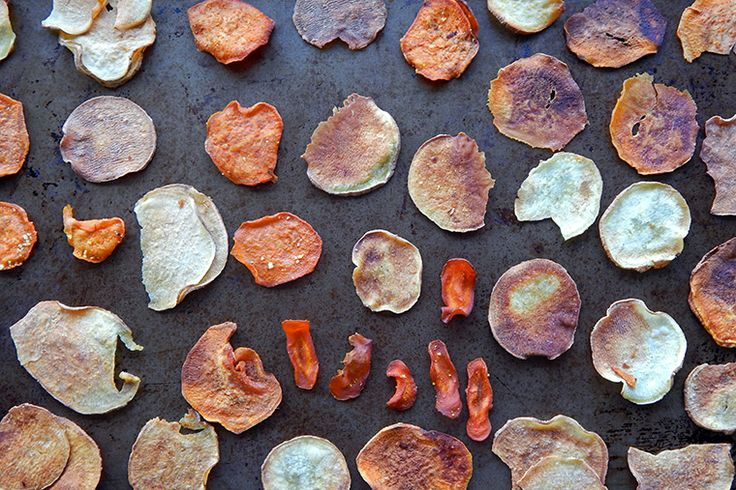 how to make healthy veggie chips