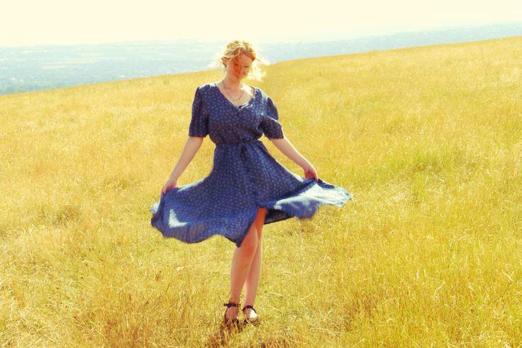Beautiful vintage dress, now available on esty!! https://www.etsy.com/uk/shop/AmberHazeyDaze?ref=search_shop_redirect