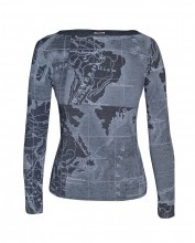 Map Top - Grey