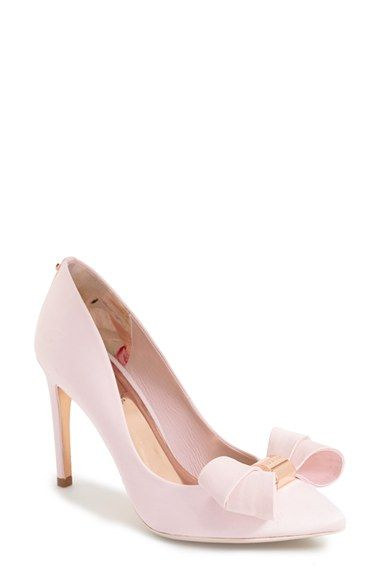 Ted Baker London 'Ichlibi' Bow Pump (Women) available at #Nordstrom #Need !!!