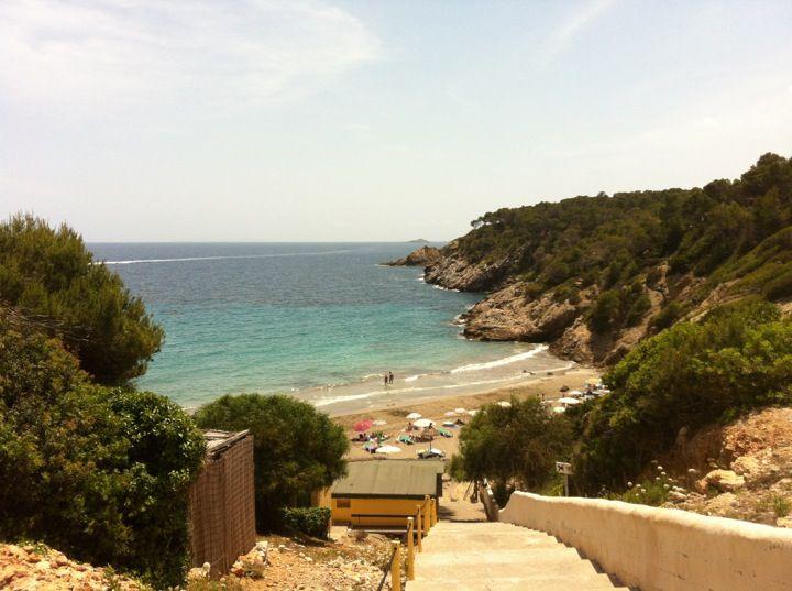Cala Boix in Santa Eulalia del Río, Islas Baleares