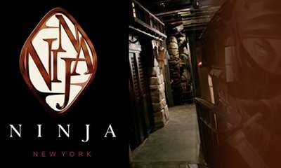 Ninja New York #themed #restaurants trendhunter.com