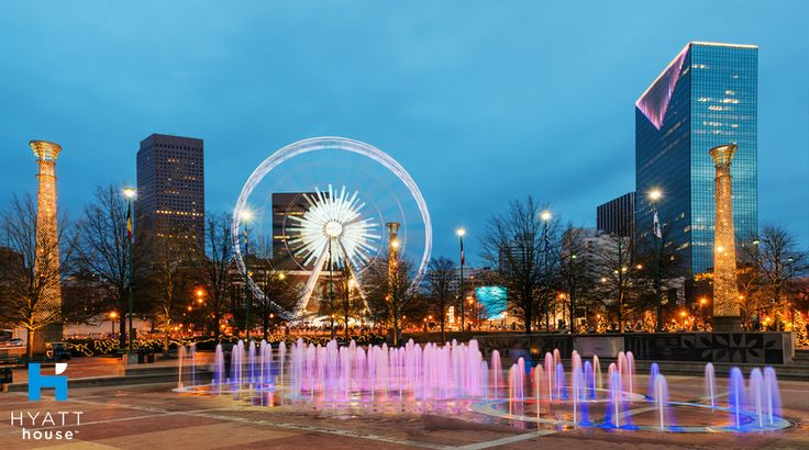 There's no better way to explore the Hyatt House Atlanta/Downtown neighborhood than with a visit to Centennial Olympic Park, one of the largest downtown parks in the country.