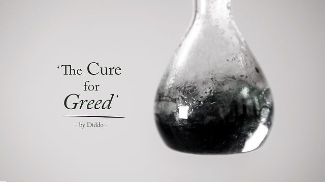 The Cure for Greed - The making of by Diddo. A behind the scenes peek, excerpted over the four-month process to produce 'The Cure for Greed'.