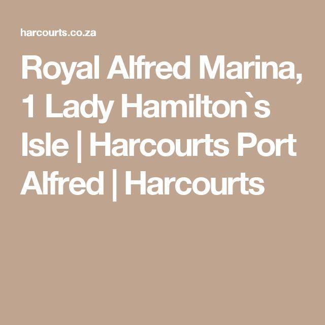 Royal Alfred Marina, 1 Lady Hamilton`s Isle   Harcourts Port Alfred   Harcourts