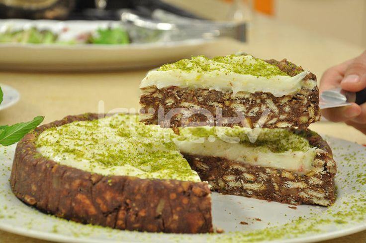 Kremalı Mozaik Pasta #MozaikPasta #KremalıPasta http://www.kure.tv/foto-galeri/kremali-mozaik-pasta/1