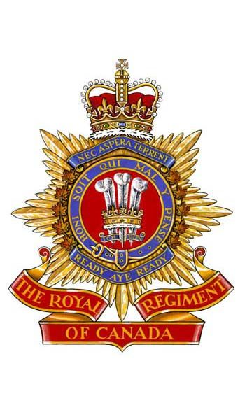 The Royal Regiment of Canada.