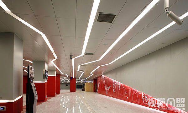 Wayfinding Lighting Office Design Pinterest